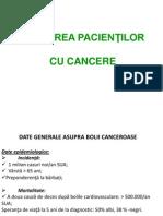 Ingrijirea Pacientilor Cu Cancere