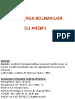 ÎNGRIJIREA BOLNAVILOR CU ANEMII-1