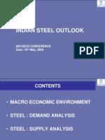 Indian Steel Outlook Iisi - Tata Steel Presentation