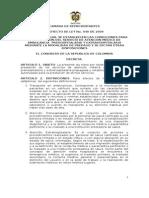 p.l.040-2009c (Ley Ambulancias)