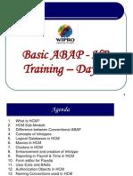 Basic HR ABAP Training - Day 1