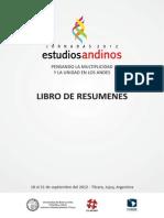 JEA 2012 Libro de Resumenes