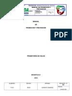 Manual de Promocion y Prevencion