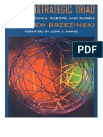 Brzezinski - The Geostrategic Triad - Living With China, Europe and Russia (2000)