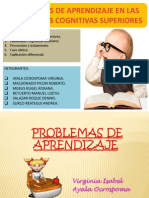 Diapositivas Problemas de Aprendizaje Cap 1