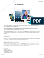 01 iOS Qualification Training - Foundations