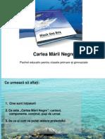 Cartea Marii Negre_prezentare Inspectori BIOLOGIE
