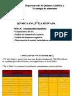 Analisis de Los Cobtainantes Del Aire