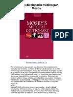 mosbys diccionario médico por mosby - 5 estrellas revisión