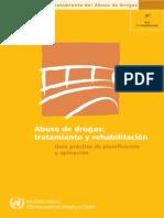 Manual de Tratamiento Al Abuso de Drogas