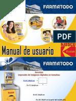 Manual de Usuario Kisco Digital Kodak