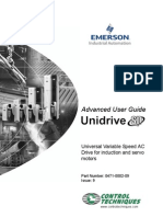 Unidrive SP Advanced User Guide