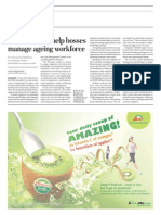 New Tools for Bosses to Manage Ageing Workforce