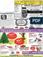 Weekly Reminder November 25, 2013