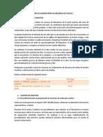 INFORME DE LABORATORIOS DE MECÁNICA DE SUELOS I