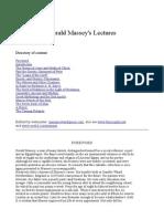 GeraldMassey Lectures