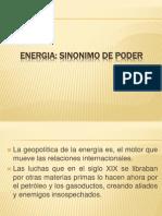 Ppt ENERGIA - Sinonimo de Poder