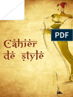 Cahier de Style Caftan