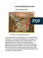 The Date of the Mahabharata War
