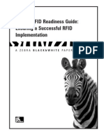 Zebra's RFID Readiness Guide-Ensuring a Successful RFID Implementation