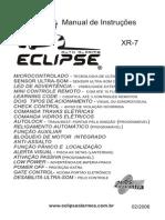 Manual Alarme Eclipse XR-7 Do Monza