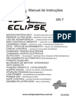 Manual Alarme Eclipse XR-7 Do Monza