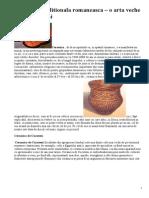 Ceramica traditionala romaneasca