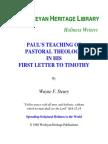 Paul's teaching
