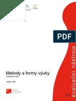 Metody a Formy Vyuky Nuov.cz