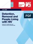 NAT and BHIVA Booklet on HIV and Removal Centres (June 2009) EMAIL-1