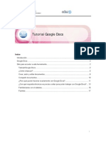 tutorial googledocs