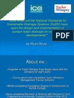 SuDs Dissertation Presentation Ryan Bruty