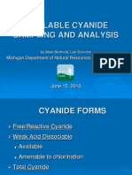 Available Cyanide Sampling and Analysis - Copia