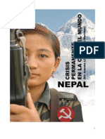 Nepal. Crisis Permanente - John Juanma