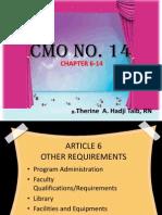 CMO NO.14