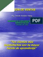 PPT Gestión De Ventas - Servicios