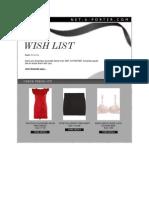 Amanda Rizk's Wish List December