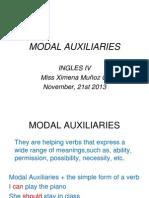 Modal Auxiliaries (7)