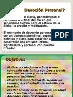 9 Devocion Personal