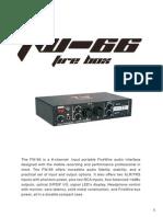 Manual Placa Tw Fw66
