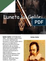 Luneta Lui Galilei Luneta lui Galilei