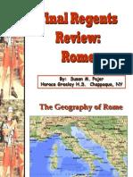 Ancient Rome Summary