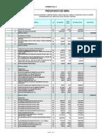 Presupuesto Licitacion Definitivo