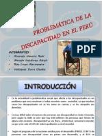 PROBLEMÁTICA DE LA DISCAPACIDAD EN EL PERÚ