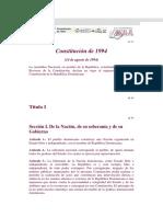 Constitucion de 1994