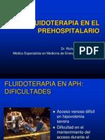 Fluidoterapia en El Prehospitalario