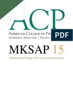 MKSAP 15 Medical Knowledge Self Assessment Program