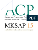 MKSAP 15 Medical Knowledge Self Assessment Program