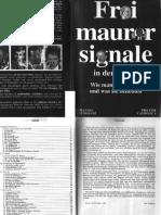 (eBook - Deutsch) Johannes Rothkranz - Freimaurersignale in Der Presse - Wie Man Sie Erkennt Und