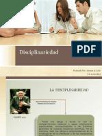 La Disciplinariedad ( Arianis Leon )
